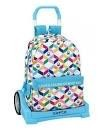 TROLLEY BENETTON GEOMETRIC  CARRO EVOLUTION 43 Cm