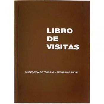 LIBRO FOLIO NATURAL 100 HOJAS M?98 VISITAS CASTELLANO PAPEL AUTOCOPIA MIQUEL RIUS