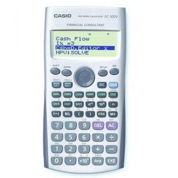 CALCULADORA FINANCIERA CASIO  FC 100 V