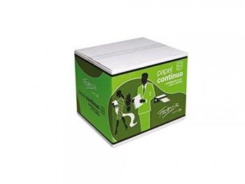 Caja de 2500 hojas de papel continuo