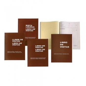 LIBRO FOLIO NATURAL 100 HOJAS M?98 VISITAS CAST/CAT-VAL MIQUEL RIUS