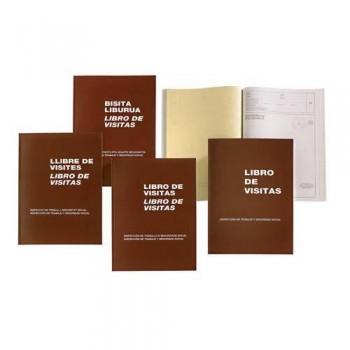 LIBRO FOLIO NATURAL 100 HOJAS M?98 VISITAS CAST/EUSKERA MIQUEL RIUS