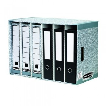 CLASIFICADOR ARCHIVADORES GRIS SISTEMA BANKERS BOX FELLOWES