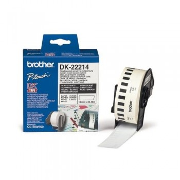 CINTA CONTINUA DE PAPEL BLANCA 12MM. X 30,48M PARA GAMA QL BROTHER