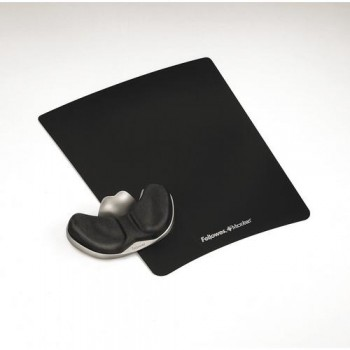 REPOSAMU?ECAS FOAM DESLIZANTE CON CANAL ERGONÓMICO HEALTH COLOR NEGRO FELLOWES