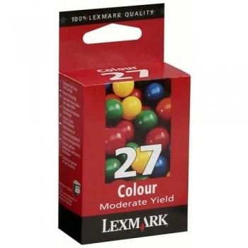 LEXMARK CARTUCHO TINTA 27 COLOR 10NX227E