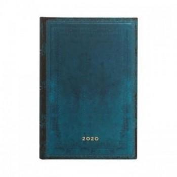 Agenda diseño 2020 anual 12 meses Paperblanks Calypso Liso Mini Por Días Tapa Dura