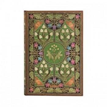 Agenda diseño 2020 anual 12 meses Paperblanks Poesía en Flor Por Días Mini