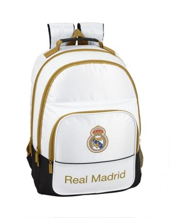 MOCHILA DOBLE ADAPTABLE A CARRO REAL MADRID 1ª EQUIP 19/20