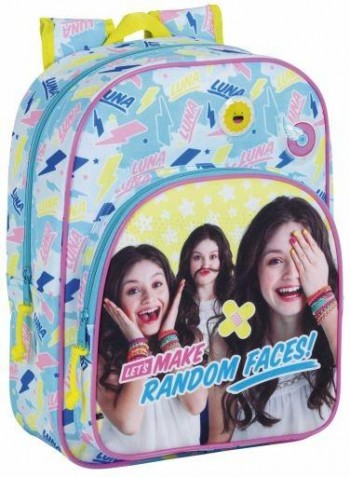 Safta Mochila Infantil Adaptable Carro Soy Luna Faces
