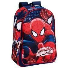 MOCHILA SPIDERMAN MARVEL EYES ADAPTABLE 43X30X14 Cm.