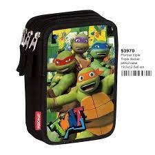 Tortugas Ninja- Plumier,, 20 Centímetros (Montichelvo 53970)