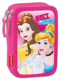 Princesas Disney Plumier Triple Completo