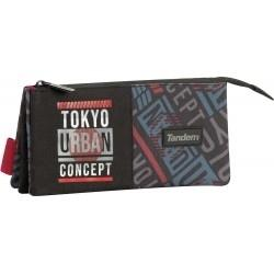 ESTUCHE TOKIO PTDO.3BOLS 260046