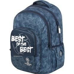 Mochila doble Adaptable a carro  CAMPIONS THE BEST. Medidas (cm):45X34X15.REF. 408011