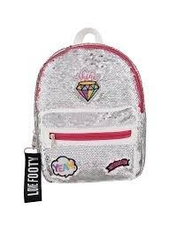 MOCHILA DIAMANTE BLANCO FOOTY GUARDERIA  8445138000379