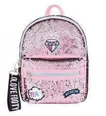 MOCHILA DIAMANTE ROSA GUARDERIA FOOTY  8445138000386