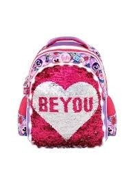 Mochila Infantil Footy Be You con Luz Led y Lentejuelas sadaptable REF.F879/1