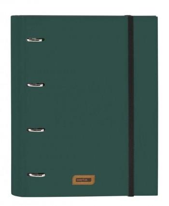 CARPEBLOC A-4 30MM 4AMILLAS CON RECAMBIO SAFTA  GRIS 54203366