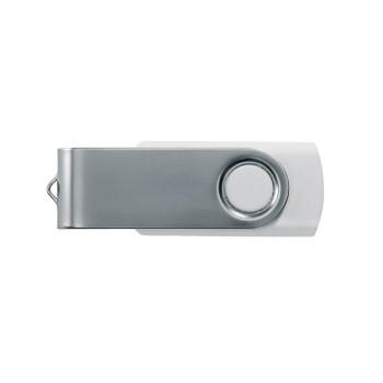 Memoria USB 16 Gb. Rotativo BLANCO