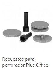 REPUESTO TALADRO P1000+1500 2 PUNZONES+4BASES HP-15
