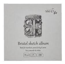 BLOC 14X14 SKETCH ALBUM BRISTOL FB-32(185)