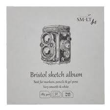BLOC 14X14 SKETCH ALBUM BRISTOL FB-32(185)
