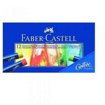 PASTEL AL ÓLEO 12 UN. CREATIVE STUDIO FABER CASTELL