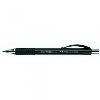PORTAMINAS 0,5 MM.. NON STOP. NEGRO GRIP-MATIC FABER-CASTELL