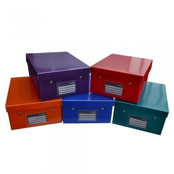 CAJA EASY-UP DELUXE TAMA?O XL A4+ 344X255X140MM PP COLORES SURTIDOS OFFICE BOX