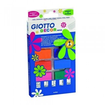 CERA MULTISUPERFICIE ESTUCHE 12 UN.  GIOTTO DECOR WAX