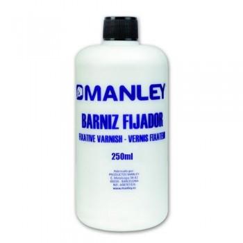 BARNIZ PLASTI-FIJADOR BOTELLA 250 ML. MANLEY