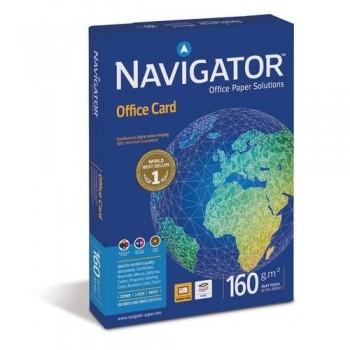 PAPEL A4 160 GR. 250 HOJAS BLANCO NAVIGATOR OFFICE CARD