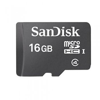 TARJETA MEMORIA MICRO SECURE DIGITAL ULTRA 16 GB. CLASS 4 SANDISK