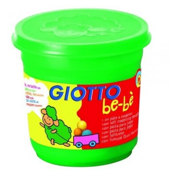 PASTA BLANDA BEBÉ BOTE 220 GR COLOR VERDE GIOTTO BE-B?