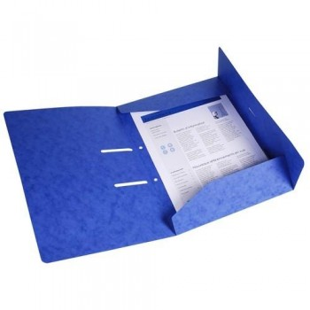 SUBCARPETA A4 ARCHIVABLE AZUL PUNCHY FOLDER EXACOMPTA