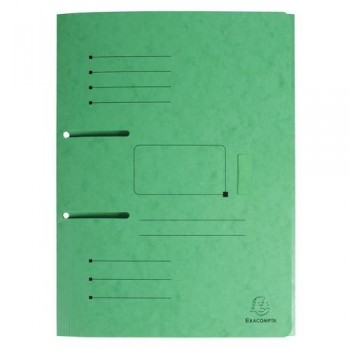 SUBCARPETA A4 ARCHIVABLE VERDE PUNCHY FOLDER EXACOMPTA