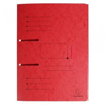 SUBCARPETA A4 ARCHIVABLE ROJO PUNCHY FOLDER EXACOMPTA