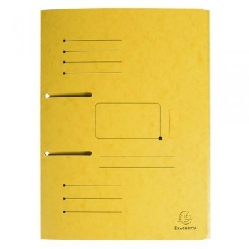 SUBCARPETA A4 ARCHIVABLE AMARILLO PUNCHY FOLDER EXACOMPTA