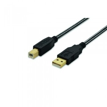 CABLE USB 2.0 A-B 1.8MT EDN
