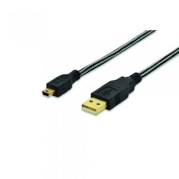 CABLE USB 2.0 A-MINI B 1.8MT EDN