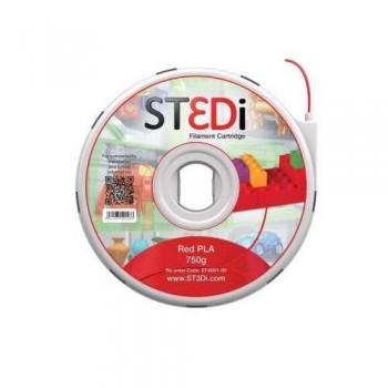 FILAMENTO PARA IMPRESORA 3D ST3DI  ROJO 750G PLA
