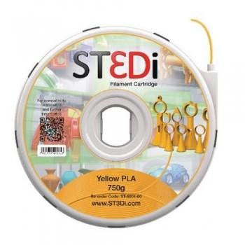 FILAMENTO PARA IMPRESORA 3D ST3DI AMARILLO 750G PLA