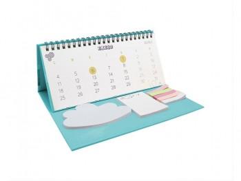 Calendario sobremesa 2021 con taco notas