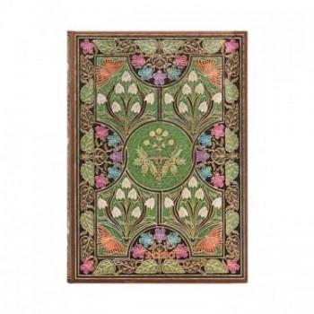 Agenda diseño 2020 anual 12 meses Paperblanks Poesía en Flor